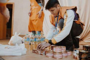 Волонтеры Петербурга раздали нуждающимся более 66 тысяч продуктовых наборов