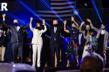 Байден получил большинство голосов выборщиков, фактически став новым президентом США