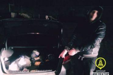 Полицейские нашли 1,5кг наркотиков вавтомобиле жителя Ленобласти