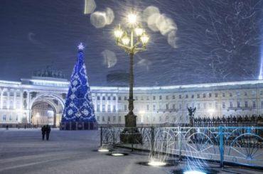 Чиновники объяснили, почему елка наДворцовой стоит 13 млн рублей