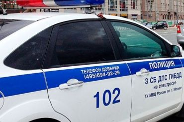 Полиция устроила вПетербурге погоню сострельбой запьяным водителем