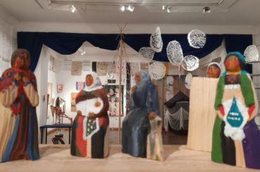 Вмузее Анны Ахматовой открылась выставка «Рождества волшебные слова»