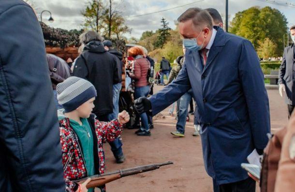 Беглов: все школы идетсады Петербурга работают