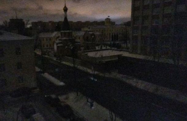 Электрики вернули свет вбольшинство домов Красносельского района