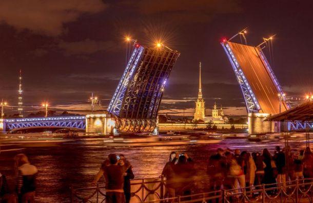 Петербуржцев предупредили оразводке мостов нанеделе