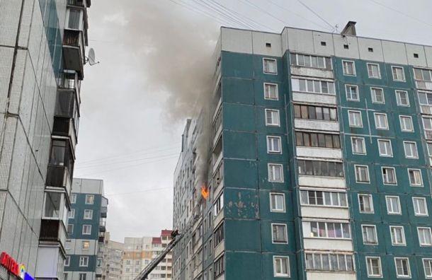 Сотрудники МЧС спасли женщину изгорящей квартиры наИскровском проспекте