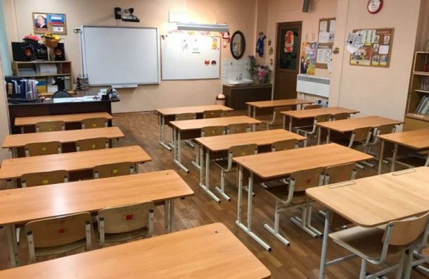Петербургские школьники продолжат очное обучение после январских праздников