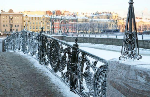 Петербург ожидает медленное понижение температуры