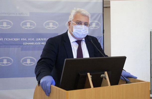 Эргашев: Число свободных коек вПетербурге превысило 24%