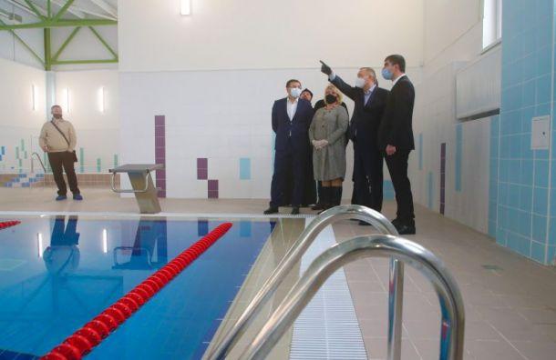 Новую школу в Ленсоветовском откроют к 1 апреля