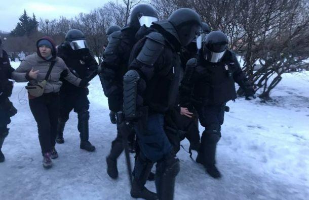 Более 20 человек обратились замедицинской помощью после акции вПетербурге