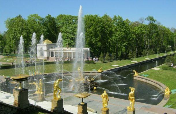 Петергоф включили всписок самых гостеприимных мест России