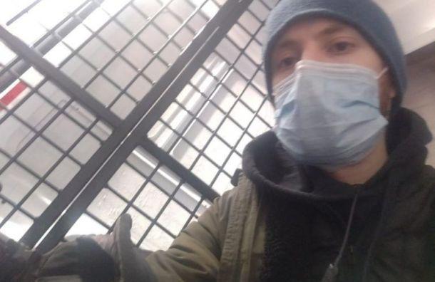 Полиция задержала журналиста «Медиазоны» Давида Френкеля