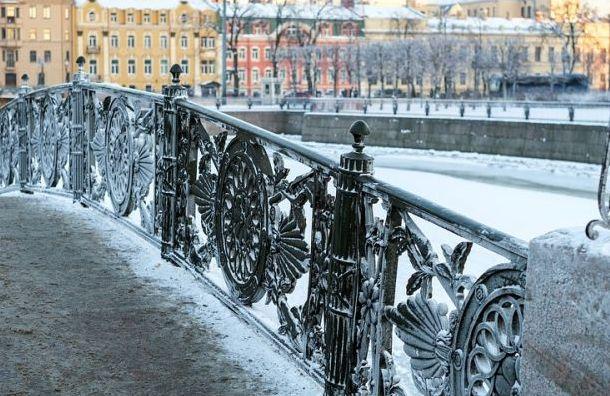 Петербург всубботу ждет мокрый снег