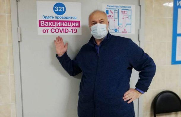 Петербургский депутат Амосов заболел коронавирусом после вакцинации