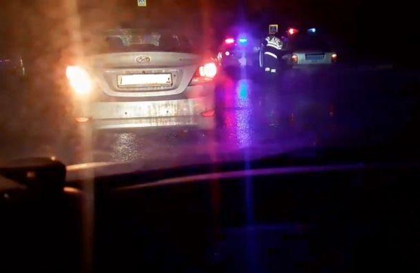 Мужчину дважды сбили наПушкинском шоссе