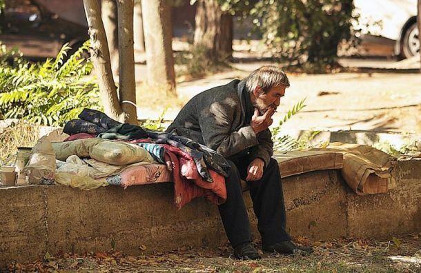 ВСмольном назвали официальное иреальное число бездомных