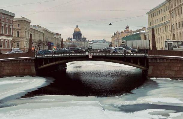 Небольшой снег ихолод побеспокоят петербуржцев 13января