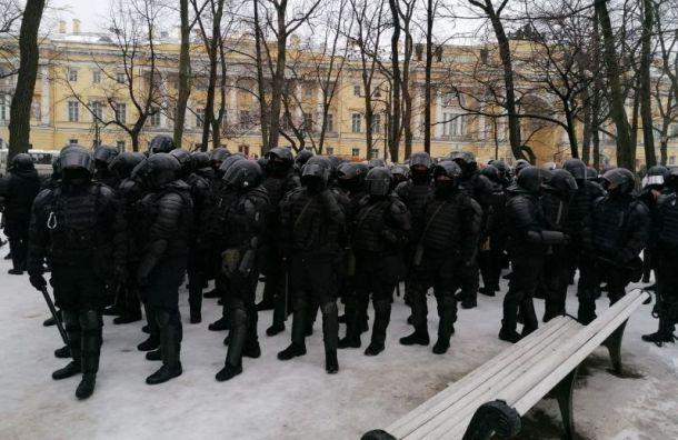 Прокуратура проверит нарушения наакции протеста вПетербурге
