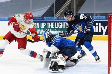 Россияне проиграли финнам вматче забронзу МЧМ-2021
