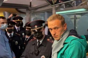 Алексей Навальный арестован на30 суток