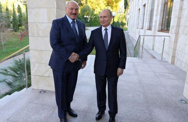 Лукашенко назвал Путина своим единственным другом