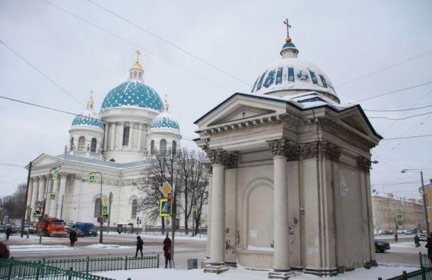Доконца года восстановят часовню Троицкого собора