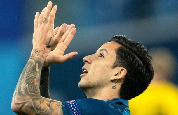Дриусси просит руководство Зенита отпустить его в Аргентину