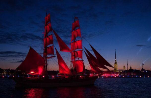 Беглов надеется, что вэтом году «Алые паруса» пройдут наулицах города