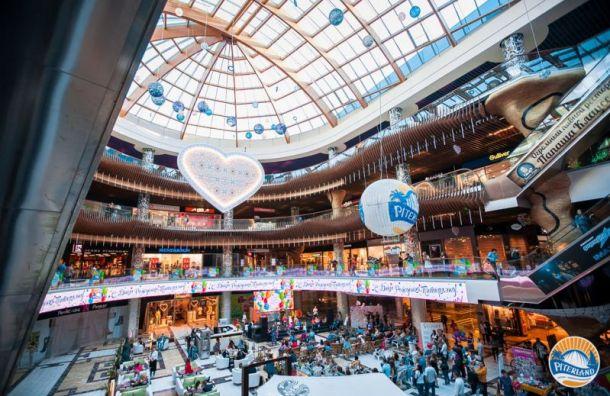 Неизвестный «заминировал» торговый центр «Питерлэнд» вПетербурге
