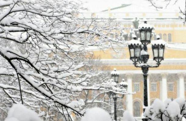 Теплая иснежная погода придет вПетербург 21февраля
