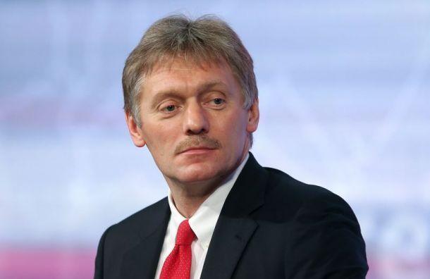 Песков посоветовал немому петербуржцу обжаловать штраф за«скандирование лозунгов»