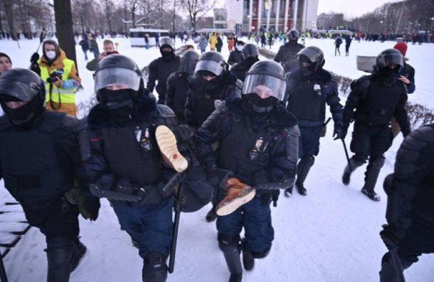 Слабовидящего петербуржца, задержанного наакции 31января, оправдали
