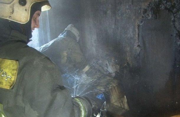 Женщина погибла при пожаре наГранитной улице