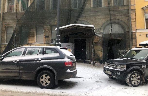 Заброшенный особняк Нарышкиной вцентре Петербурга передадутСК