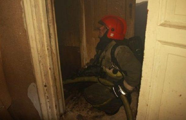 Девять человек оказались наморозе после пожара наЖуковского