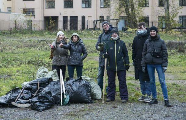 Петербуржцы хотят превратить кладбищенский пустырь вдружелюбный сад