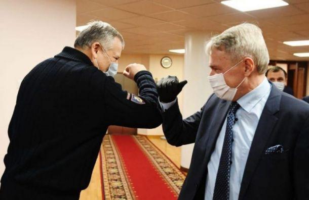 Дрозденко спросил углавы МИД Финляндии оботкрытии границ