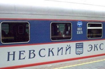 Вагон скоростного поезда «Невский экспресс» загорелся вПетербурге