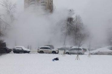 Трубу скипятком прорвало наулице Костюшко