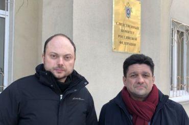 Кара-Мурза потребовал отСК возбудить дело опокушении наубийство