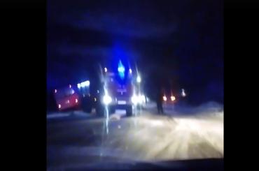 Водитель Mercedes госпитализирован после ДТП смаршруткой наЛенинградском шоссе
