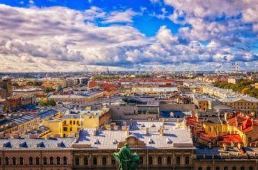 Петербург непопал впятерку лучших регионов России для жизни