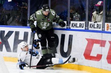 СКА обыграл минское «Динамо» впоследнем туре регулярного чемпионата КХЛ