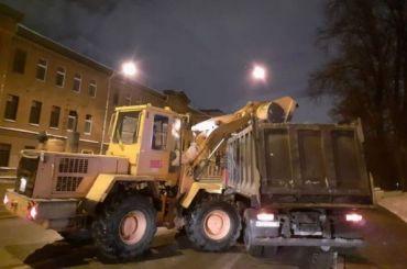 Засутки вПетербурге утилизировали рекордные 45 тысяч кубометров снега