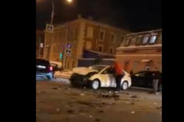 НаКременчугской произошла массовая авария