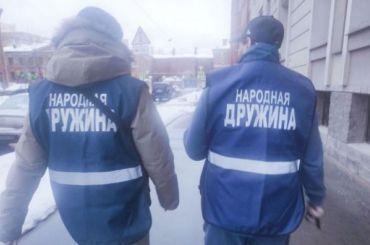 Улицы Петербурга патрулирует «народная дружина»
