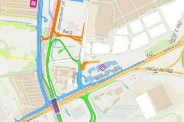 Определена территория под будущую развязку сМурманским шоссе вгороде Кудрово
