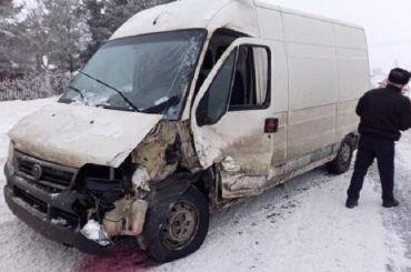 Школьный автобус попал ваварию вЛомоносовском районе