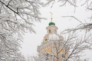 Небольшой снег заставит петербургские морозы отступить